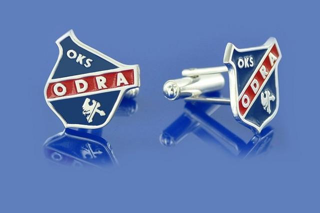Spinki na zamowienie kibica OKS ODRA