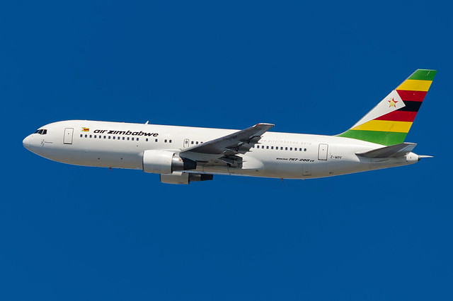 JFK | Z-WPF | Air Zimbabwe One