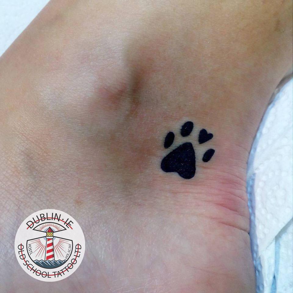 Tiny Paw Print Tattoo Paw Print Tattoo Small Pow Print Flickr