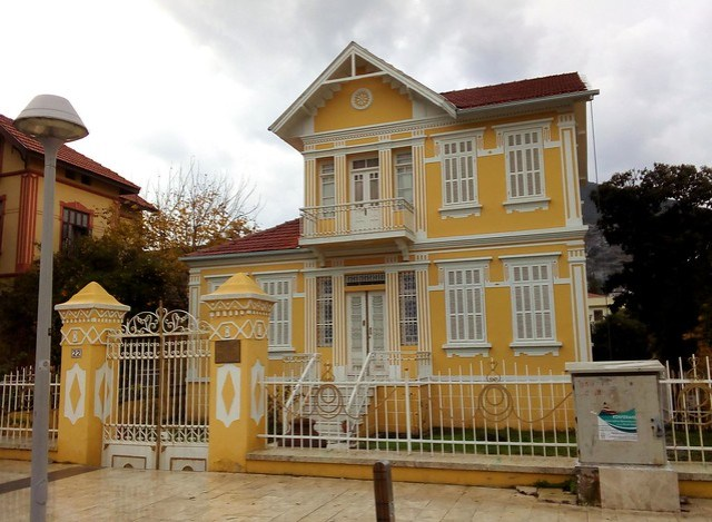 Milas is known for its colorful houses, especially yellow. by bryandkeith on flickr