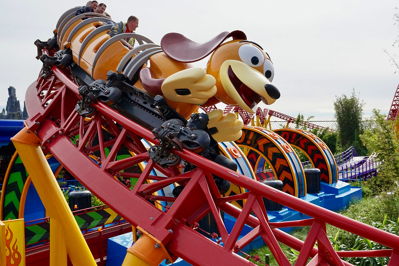 Slinky Dog Dash - Roller Coaster - Hollywood Studios - Theme Park - Disney World