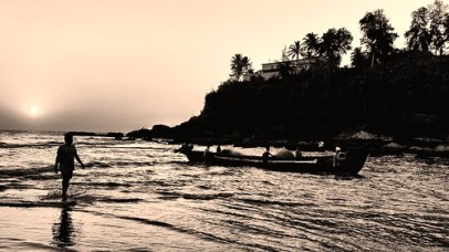 Fishing boats at Baga