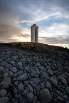 Kálfshamarsviti Leuchtturm