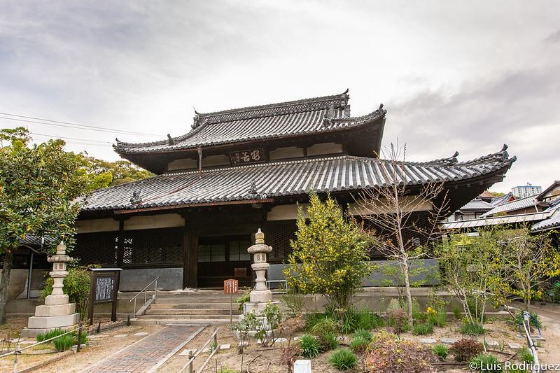 Salón principal del templo Zenshoji