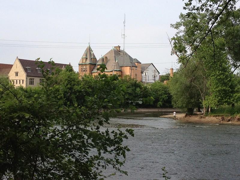 Fishing at Riverside