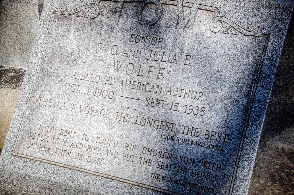 Thomas Wolfe Grave-002