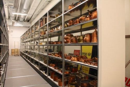 Stadsmuseets föremålsmagasin