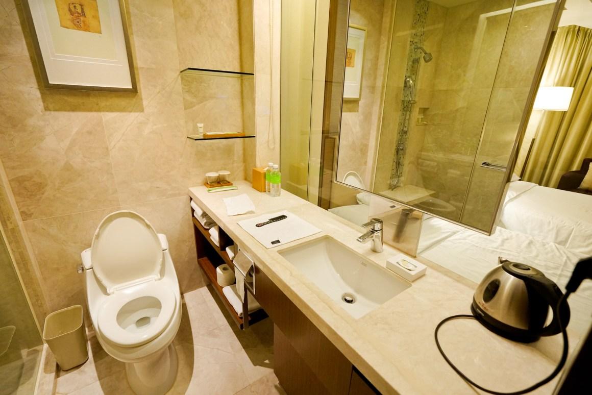 首爾時代廣場萬怡酒店 客房浴室及廁所