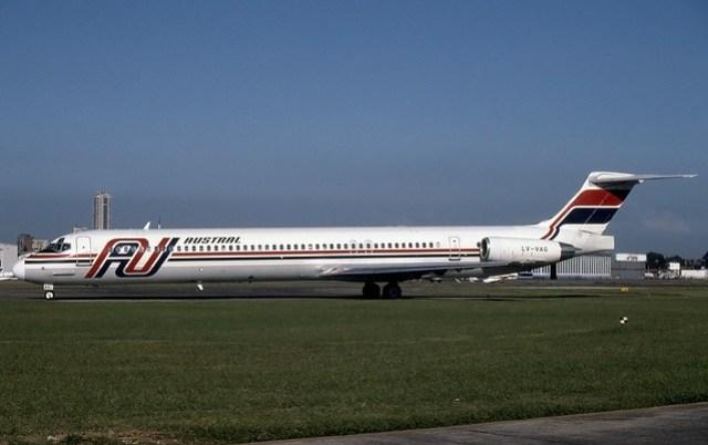 Austral Douglas MD-80 LV-VAG