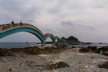tot aan de beroemde brug van Sanshiantai met zijn 8 bogen