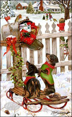 c6823646d2667ee14e0cb615fb4a5f85--christmas-dog-vintage-christmas