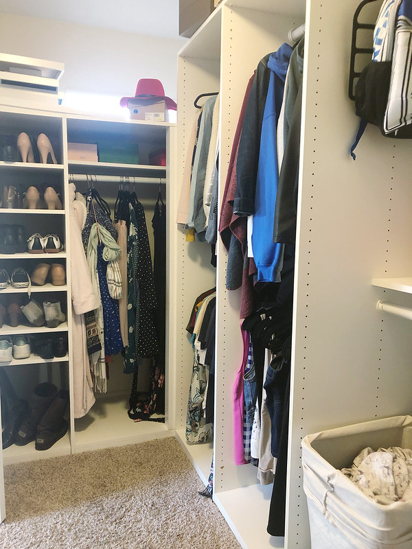 My corner of the closet