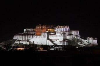 Het paleis van de Dalai Lama: Potala.