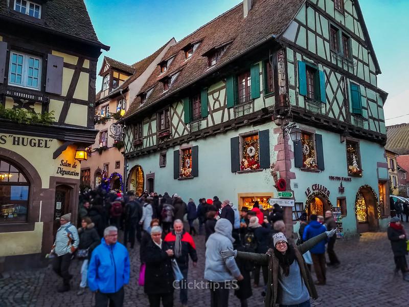 · Riquewihr, uno de los pueblos más bonitos de Alsacia · Alsacia en Navidad ·