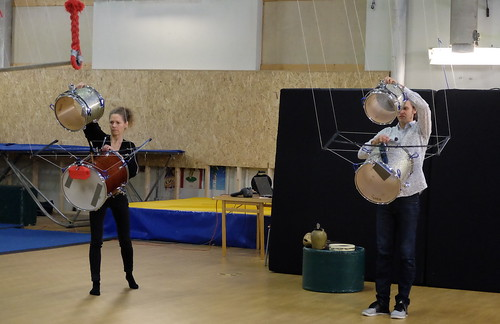 Tanja Kaitaniemi och Mattias Lindström