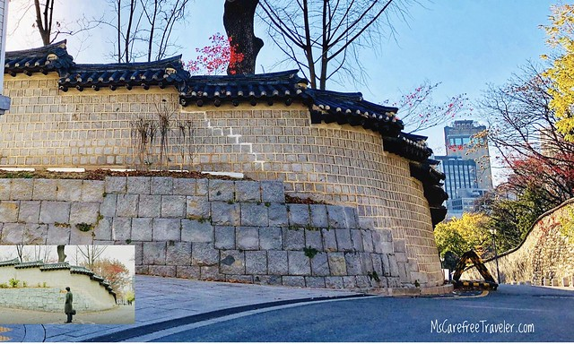 Goblin filming location, Deoksugung Stone-wall Road, Seoul, Korea