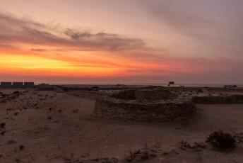 Die stop bleek een beetje een bummer, het ging namelijk om dit fort. Volgens tripadvisor één van de top 15 dingen in Qatar.