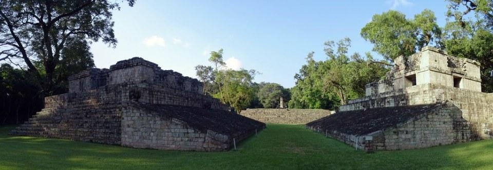 Juego de Pelota sitio arqueologico Maya de Copan Honduras 03