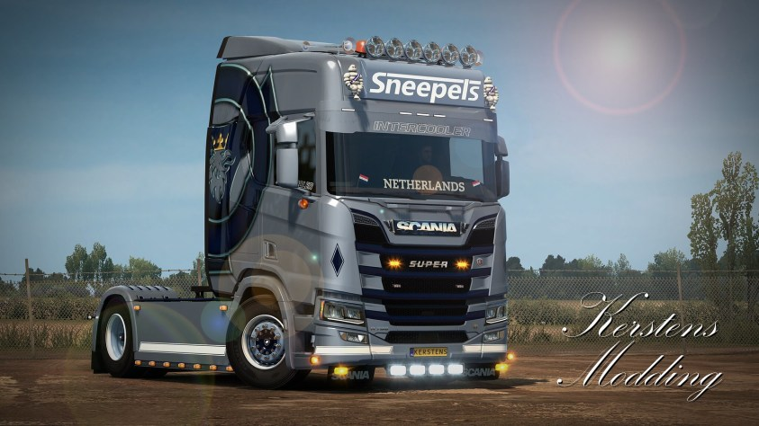 Sneepels Scania Next Generation R650