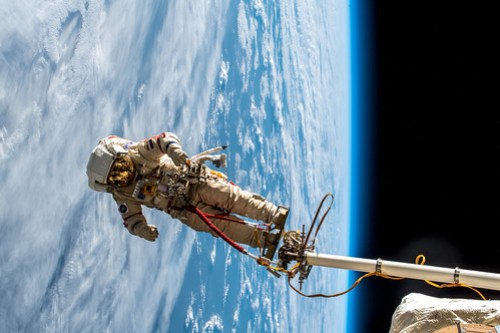 Russian spacewalk