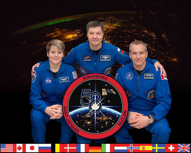 Expedition 58 Crew Portrait