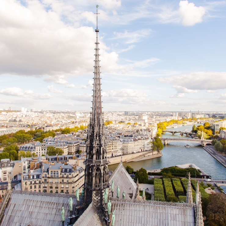 Paris from Notre Dame