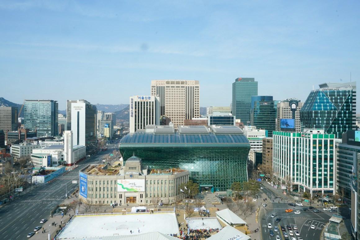 首爾廣場酒店傲途格精選 客房景觀
