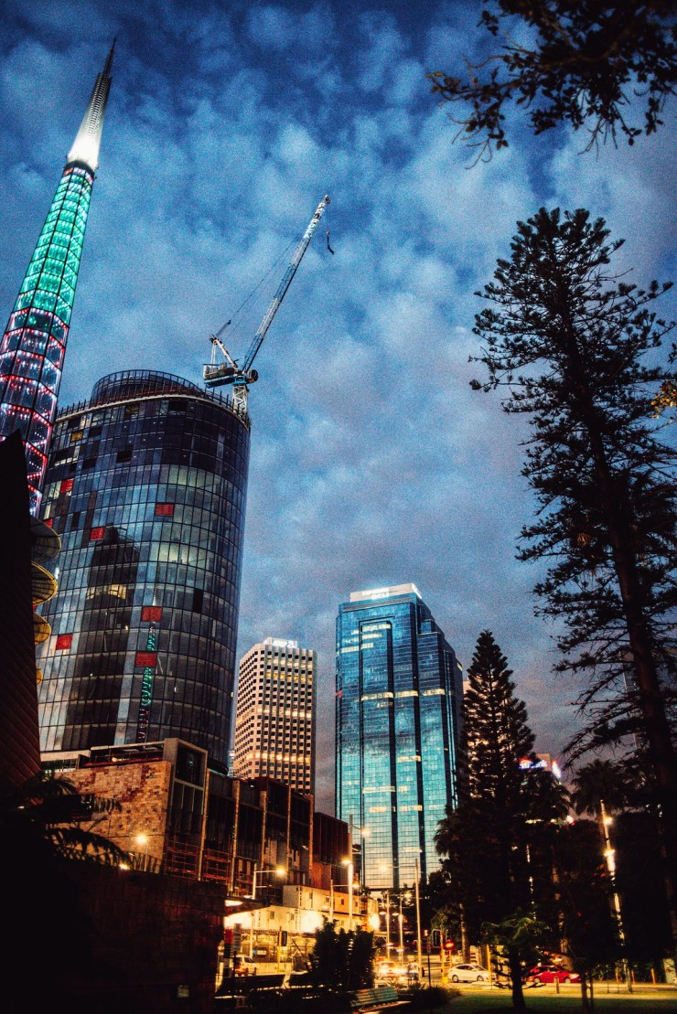 Perth City Absract