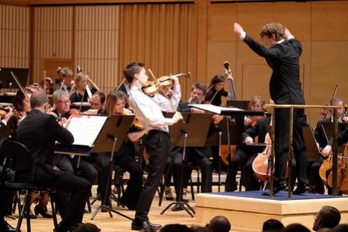 Johan Dalene och Daniel Blendulf med Norrköpings Symfoniorkester
