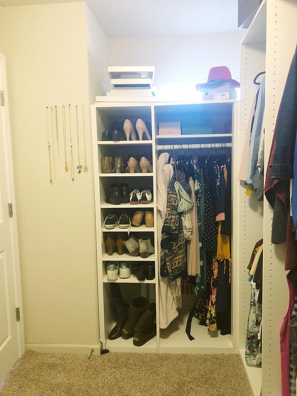 My corner of the Master Closet