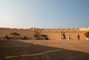 Het fort is tegelijk museum en nog in gebruik (althans daar leek het wel op).