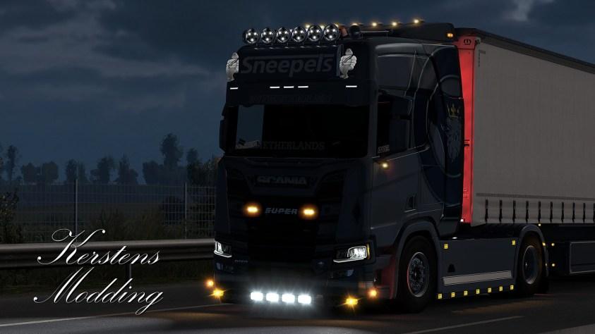 Sneepels Scania Next Generation R650