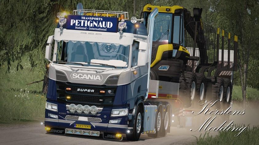 Petignaud transports