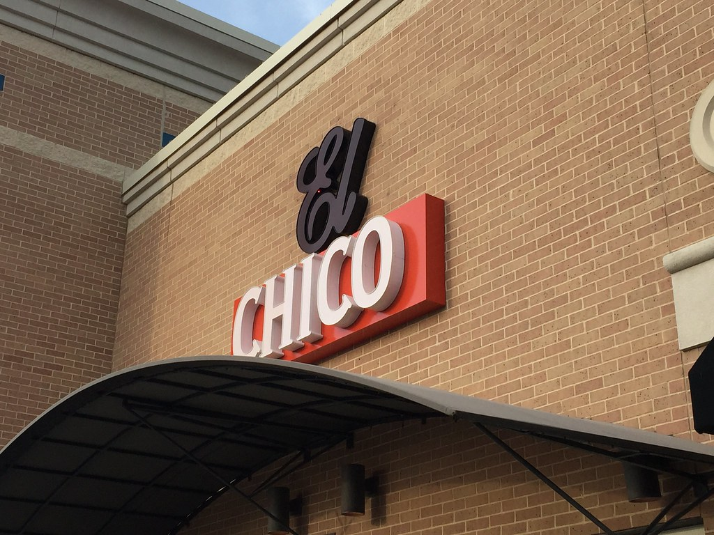 New signage is up at the Flower Mound El Chico.