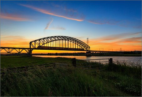 Holland, land of bridges, rivers and transport