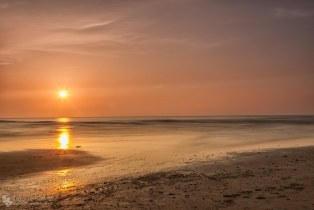 Sunset at the Northsea.