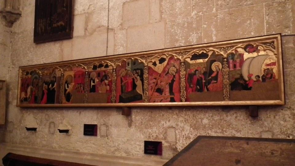 retablo pintura Museo Catedral Palma de Mallorca Islas Baleares 11