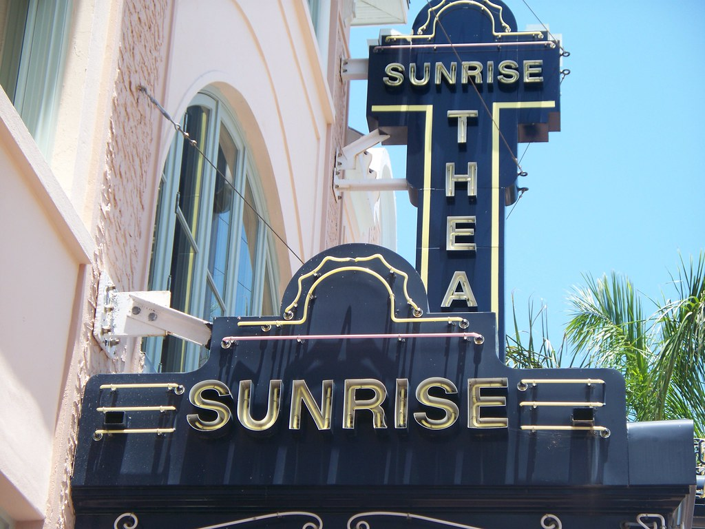 1923 Sunrise Theatre In Downtown Fort Pierce Florida Flickr