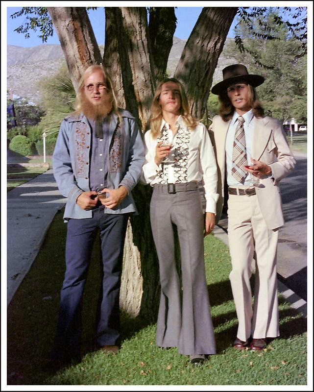 Tres Hippies, El Paso, September, 1975