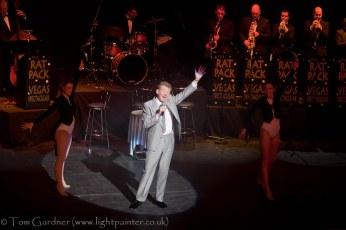 """Dean Martin"" and dancers"