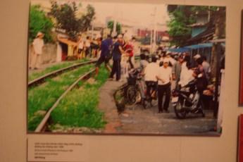 Sonderausstellung Aids Ethnologiemuseum Hanoi