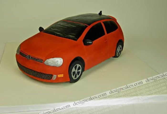 Golf Gti 3d Car Cake Christine Pereira Flickr
