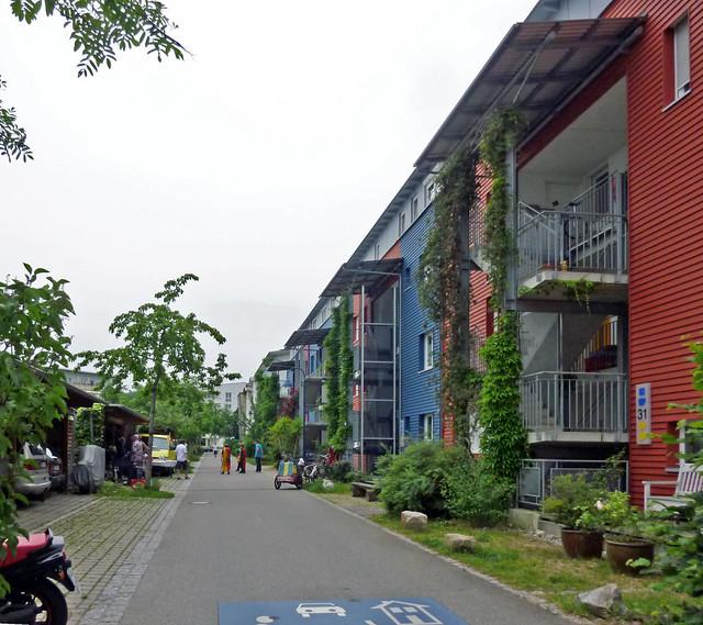 Block interiors in Rieselfeld
