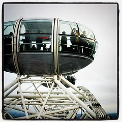 The top of the London Eye