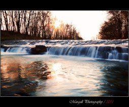 The waterfall - River Grana - NO HDR - San Pietro del Gallo - Cuneo - Italy