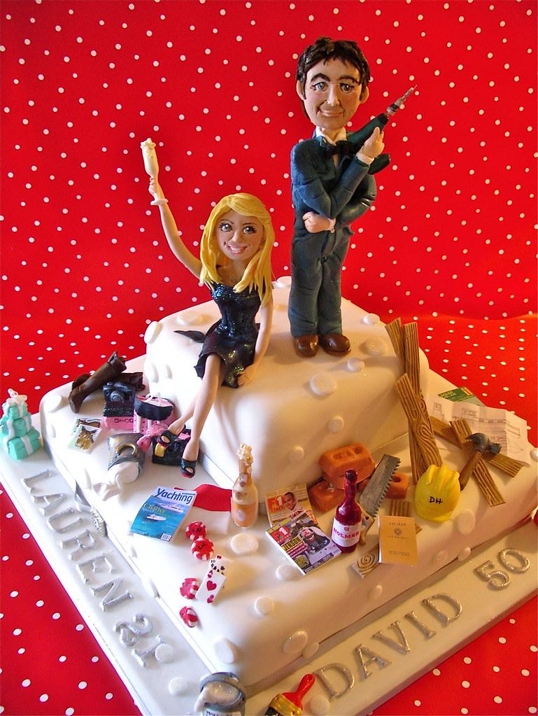 Father Daughter Birthday Cake Lynette Horner Flickr
