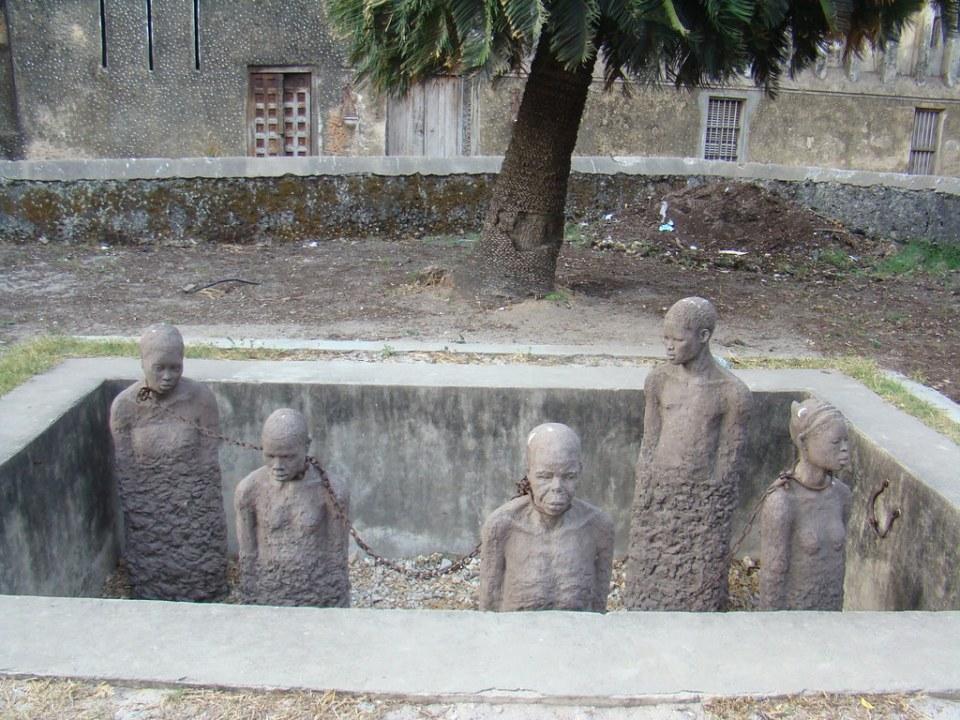 Monumento a la esclavitud Stone Town Zanzibar Tanzania 05