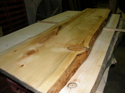natural wood slab