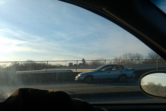 Crappy photo of adorable downtown Des Moines