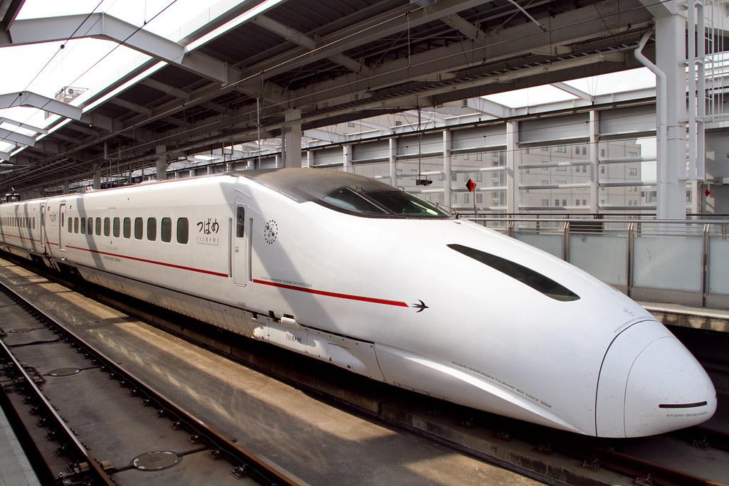 """Kyushu Shinkansen """"Tsubame"""""""